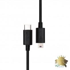 کابل تبديل USB Type C به miniUSB پرولينک مدل PB481-0100