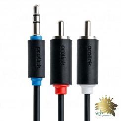 کابل تبديل یک به دو صدا  پرولينک مدل PB103 به طول 1.5 متر
