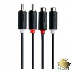 کابل افزايش طول RCA پرولينک مدل PB102-0300 طول 3 متر