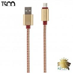کابل تبديل USB به microUSB تسکو مدل TC 61 به طول 2 متر