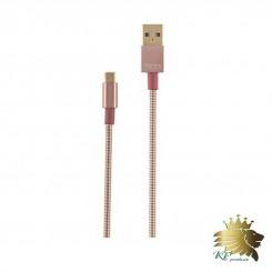 کابل تبديل USB به microUSB تسکو مدل TC 62 به طول 1 متر