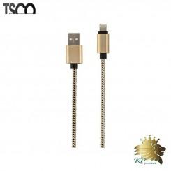 کابل تبديل USB به لايتنينگ تسکو مدل TC 63N به طول 2 متر
