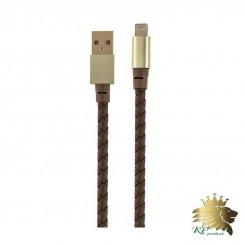 کابل تبديل USB به لايتنينگ تسکو چرمی مدل TC 65 به طول 1.5 متر