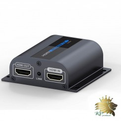 افزایش طول HDMI برد  60 متر توسط کابل Cat6برند LenKeng مدل LKV372Pro