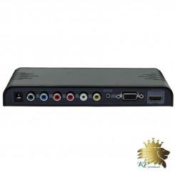 تبدیل YPbPr+VGA+CVBS+Audio به HDMI مارک lenkeng مدل LKV353
