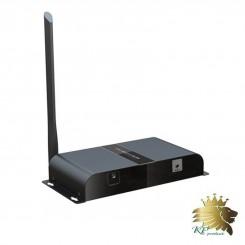 تبدیل افزایش طول VGA بی سیم با تکنولوژی HDbitT برند lenkeng مدل LKV388VGA