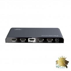 اسپلیتر4port HDMI برند lenkeng مدل LKV314EDID-V2.0