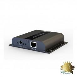 افزایش طول  HDMI 4K برروی شبکه با فناوری HDbitT با IR برند Lenkeng مدل LKV683-100m
