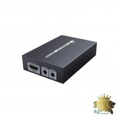افزایش طول HDMI برروی CAT6 با  تکنولوژی HDBaseT با IR برندlenkeng مدل LKV375