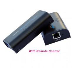 مبدل افزاش طول HDMI تحت LAN تا 120 متر بافو + ریموت کنترل