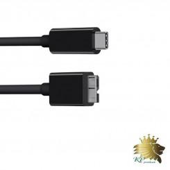 کابل هارد اکسترنال بافو USB-C 1.5m