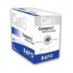 کابل شبکه حلقه ایی Cat.6 UTP بافو 305 متری