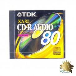 CD Audio TDK RX 80