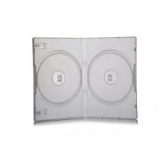 قاب DVD دوبل  14 میل شفاف