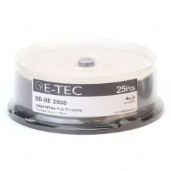 بلوری خام 25 گیگابایتی E-TEC پرینتیبل