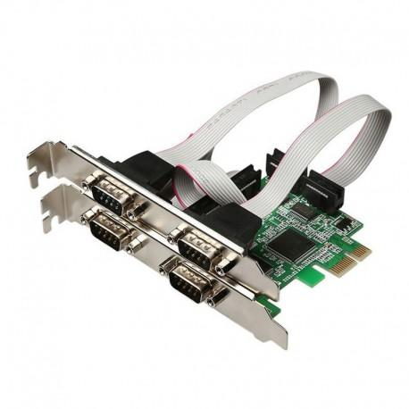 کارت PCI Express  چهار پورت سریال امگا