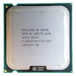 Intel® Core™2 Quad Processor Q8400  (4M Cache, 2.66 GHz, 1333 MHz FSB)
