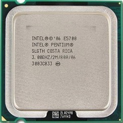 INTEL® PENTIUM® PROCESSOR E5700  (2M CACHE, 3.00 GHZ, 800 MHZ FSB)