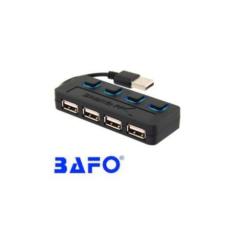 هاب 4 پورت USB2.0 بافو