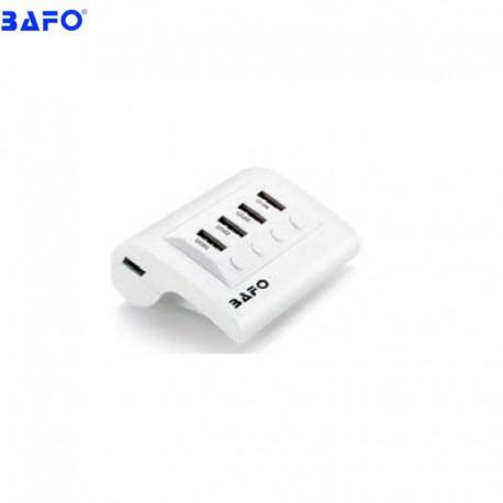 هاب بافو 4 پورت USB2.0 آداپتور دار + LED