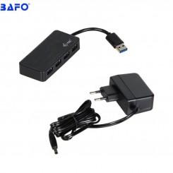 هاب 4 پورت USB3.0 بافو