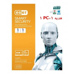 آنتی ویروس  Eset Smart Security 9 - 2016 1+1PC نوین
