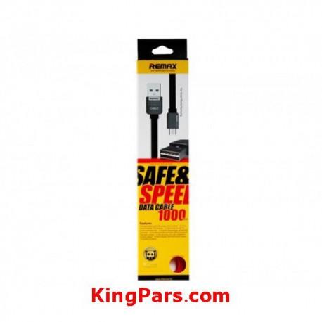 کابل یو اس بی به لایتنینگ ریمکس مدل Safe&Speed