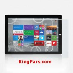 محافظ صفحه نمایش شیشه ای  تبلت مایکروسافت سرفیس پرو 3 |Microsoft Surface Pro 3 Glass Screen Protector
