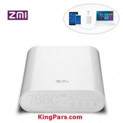پاور بانک و مودم همراه 4G شیائومی مدل ZMI MF855  ظرفیت 7800 mAh