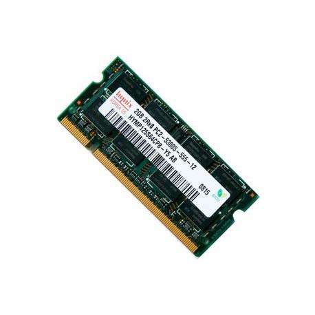RAM Laptop DDR2 2.0 GB BUS  677MHZ