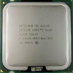 سی پی یو اینتل Intel Core 2 Quad Q6600 Tray