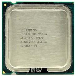 سی پی یو اینتل Intel Core 2 Duo E6600 Tray