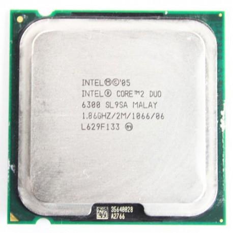 سی پی یو اینتل Intel Core 2 Duo E6300 Tray