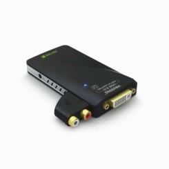 تبدیل USB 2.0 به VGA, DVI, HDMI با صدا  بافو
