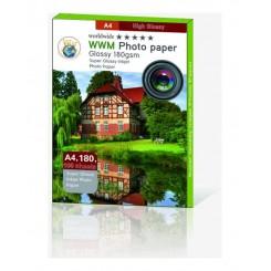 کاغذ فتوگلاسه180 گرمی WWM سایز A4