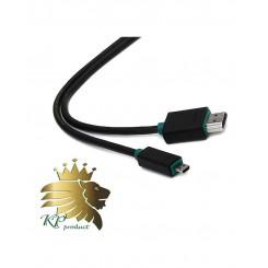 کابل تبديل HDMI به microHDMI پرولينک به طول 1.5 متر