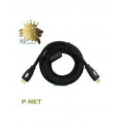 کابل HDMI 2K4K پی نت 3 متری پک مقوایی