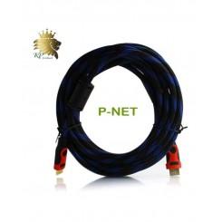 کابل HDMI پی نت 5 متری 1.4 پک نایلونی