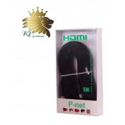 کابل HDMI فلت پی نت 5 متری