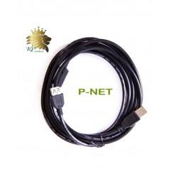 کابل افزایش طول USB پی نت 5 متری