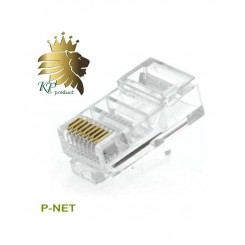 سوکت کابل شبکه  RJ45 Cat.5 UTP Pnet