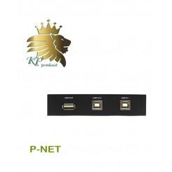 دیتا سوئیچ USB اتوماتیک 2 پورت P net