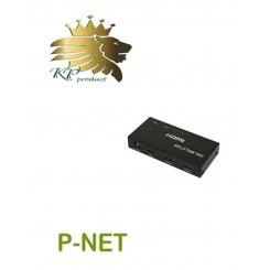 اسپلیتر P-Net دو پورت HDMI