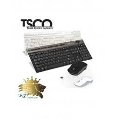 کيبورد و ماوس بی سیم تسکو مدل TKM7106W