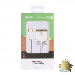 کابل تبديل HDMI به DVI-D پرولينک مدل MP269 به طول 2 متر